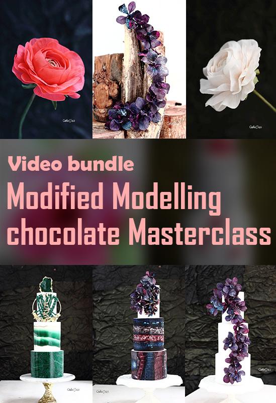 Modelling chocolate flowers & wedding cakes Masterclass
