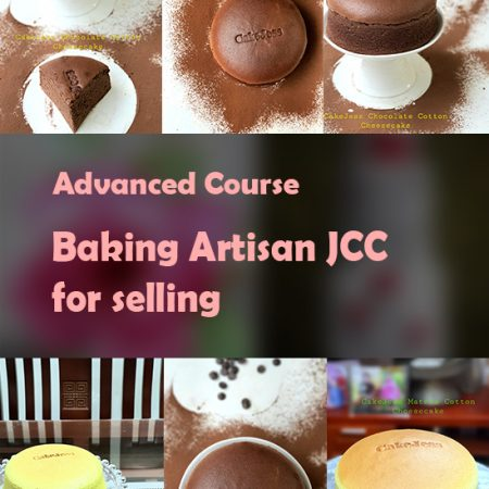 Baking Artisan Japanese Cotton Cheesecakes for selling – Advanced Course